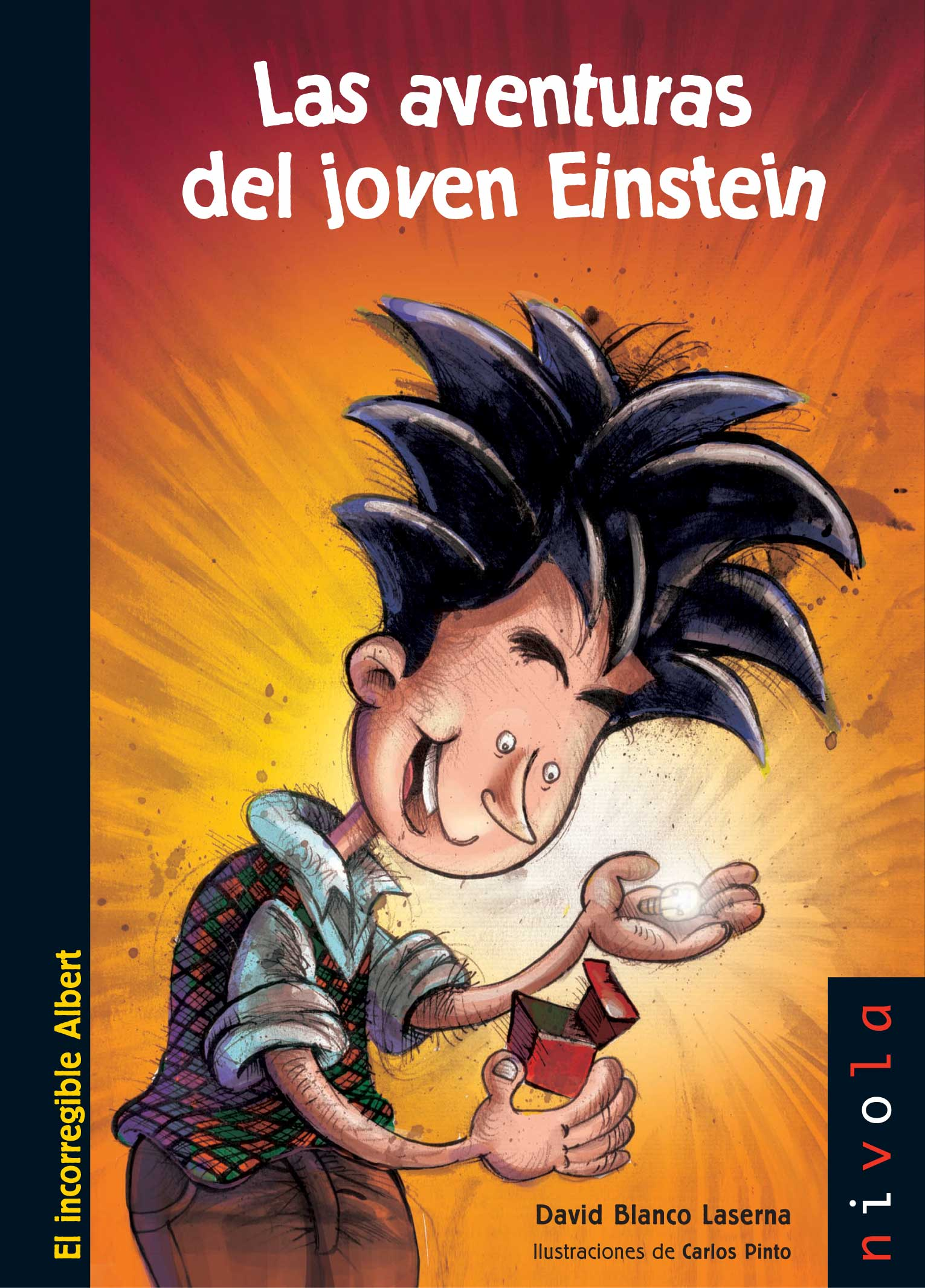Las aventuras del joven Einstein. Por David Blanco Laserna