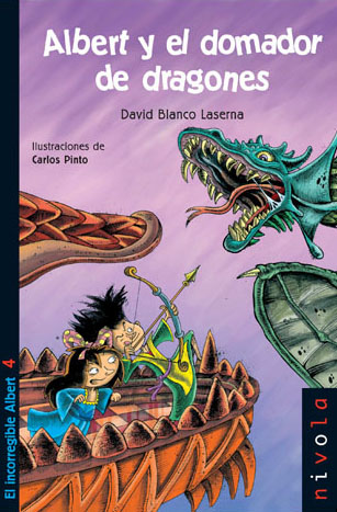 Albert y el domador de dragones. David Blanco Laserna